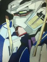 My Almost finsihed painting by Gundamluver
