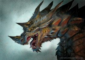 Cryptic Dragon by Decadia