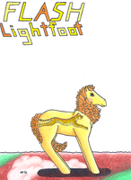 MLP: Flash Lightfoot color by VioletWhirlwind