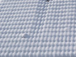 snowy roof pattern by vw1956stock