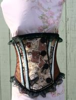 Alice in Wonderland Underbust by KidThink