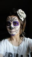 Day of The Dead: Makeup Trial by 501JOXTER