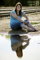Senior Photo: Reflection by brandimillerart