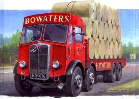 AEC Mammoth Major Bowaters by Artistjeffries