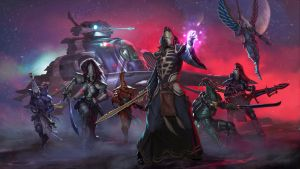 Eldar Faction Splash by DiegoGisbertLlorens