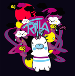 TRILLAH tee by Silvathelucker