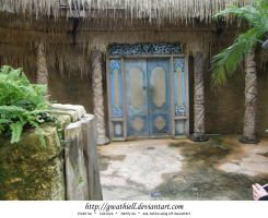 Zoo - Blue doors by Gwathiell