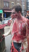 Toronto Zombie Walk Funeral (Video Link) by Codetski101