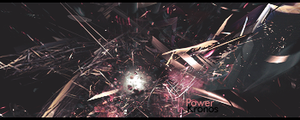 Abstract power tag by Kronos3051