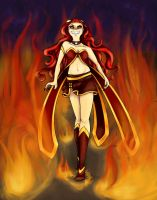 Queen of Flames by WhateverCat