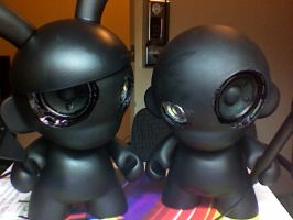 speakers, munny by Madhattin