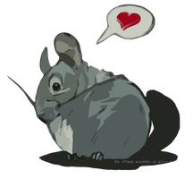 Valentines Chinchilla by OblokMagellana