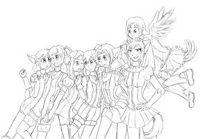DMM group pic (Preview) by Aijihi