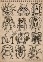ROBOTZ Concepts 9 by radu-jm by Robot-drawing-club