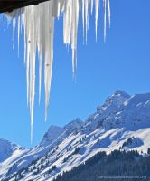 Diagonal Icicles by artamusica