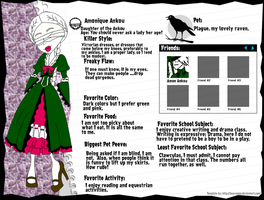 Amonique Ankou Character Bio Sheet by InvisibleDesire