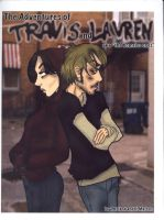 Travis and Lauren--front cover by depplosion
