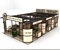 Exhibition Booth by hobigrafix