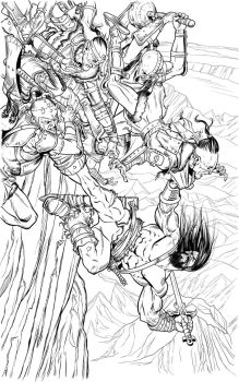 Radgnar cover 2 inked by angryrooster