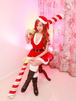 Candy Cane Miss Fortune by RinnieRiot