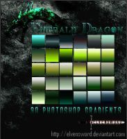 Emerald Dragon Ps Gradients by ElvenSword