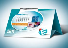 2011 desk calendar by boyasseen