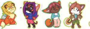All my Chibis by Tillette