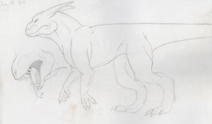 New Species :: WIP by lucidcoyote