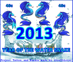 2013 Water Snake Banner by tropical395