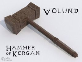 Volund, the Hammer of Korgan by CorellaStudios