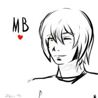 MB Free Sketch by Zaphirosa