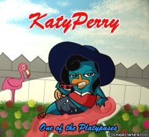 Katy Perry the Platypus by toongrowner