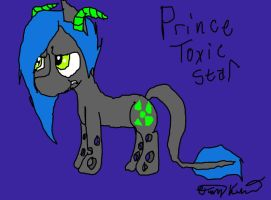 Prince Toxic Star by XRadioactive-FrizzX