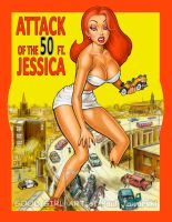 Attack of the 50 ft JESSICA c by GOODGIRLART