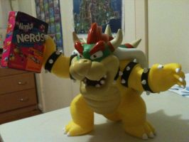Bowser with a box of Wonka's Nerds. by AssassinKnight-47