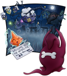 S1 Errand 11 Team Mischiefs and Ghost Story by demiveemon