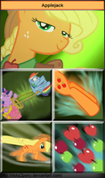 Applejack, the Windrunner by Dota2Pony
