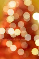 warm bokeh. by AlexandraBuck