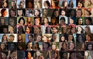 Lucy Pevensie Through The Ages by Lexxa24
