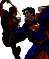 Supes Vs Deadpool Match Up  by mmxT