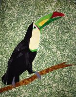 Toucan by Stitchwich