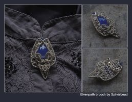 Elvenpath brooch by bodaszilvia