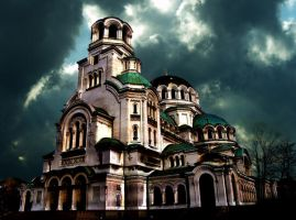 Matte Painting - Church by ZanOellO