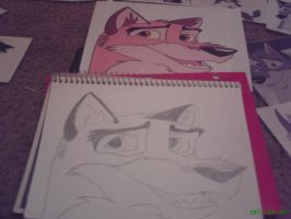 Balto~ ALLLL MOST DONE!!!!!!!!!! by BaltoTheShadowHusky