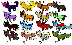 Animal Adopts batch by MoBAdopts
