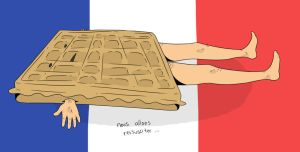 french toast by PaperSquid
