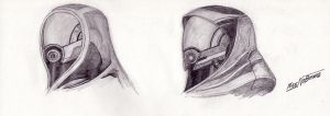 Tali Zorah: first study by MikeNoBrake