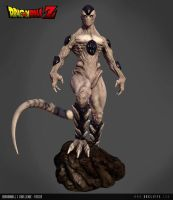 Frieza Final Form 3D by AndiMoo