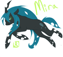 Changeling Mira by BitchesLoveCannons