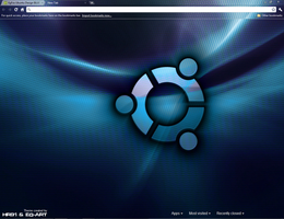 Ubuntu Design BLUE Eg-Art by hr91
